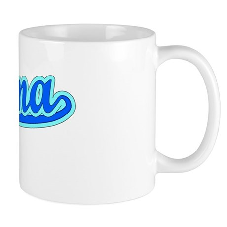 Retro Paloma (Blue) Mug
