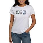 Eat Sleep Equipment Operation Women's T-Shirt