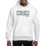 Eat Sleep Equipment Operation Hooded Sweatshirt