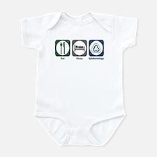 Eat Sleep Epidemiology Infant Bodysuit