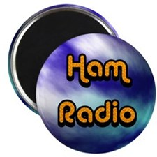 Ham Radio (earth) Magnet