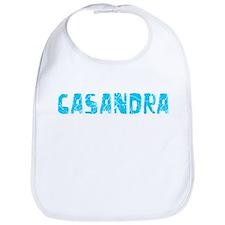 Casandra Faded (Blue) Bib