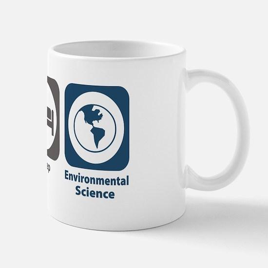 Eat Sleep Environmental Science Mug