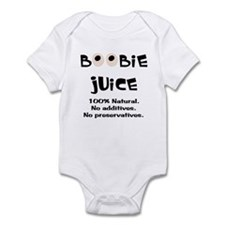100% Natural Boobie Juice ~ Infant Bodysuit