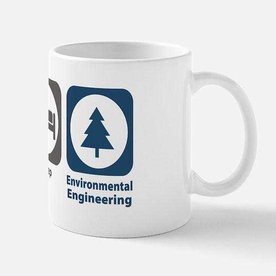 Eat Sleep Environmental Engineering Mug
