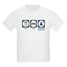Eat Sleep Environmental Engineering T-Shirt