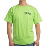 Eat Sleep Environmental Engineering Green T-Shirt