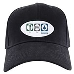 Eat Sleep Environmental Engineering Black Cap