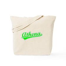 Retro Athena (Green) Tote Bag