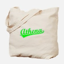 Retro Athena (Green) Tote Bag