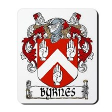 Byrnes Coat of Arms Mousepad