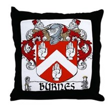 Byrnes Coat of Arms Throw Pillow