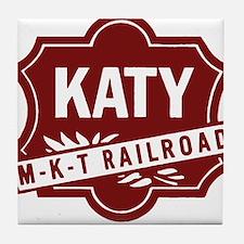 MKT Railroad Tile Coaster