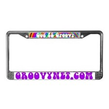 Cute Groovynet License Plate Frame