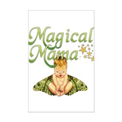 Magical Mama Fairy Baby Posters