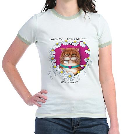 Loves Me Jr. Ringer T-Shirt
