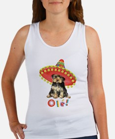 Fiesta Yorkie Women's Tank Top