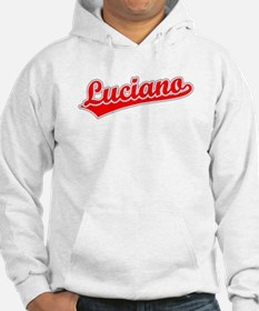 Retro Luciano (Red) Hoodie