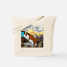pack horse humor Tote Bag