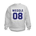 WEDDLE 08 Kids Sweatshirt