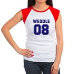 WEDDLE 08 Women's Cap Sleeve T-Shirt