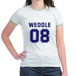 WEDDLE 08 Jr. Ringer T-Shirt