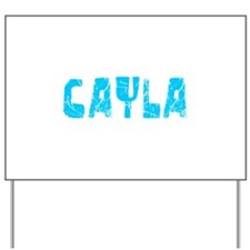 Cayla Faded (Blue) Yard Sign