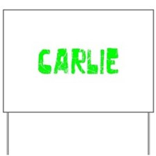 Carlie Faded (Green) Yard Sign