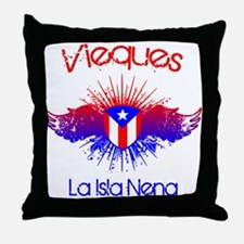 Vieques Throw Pillow