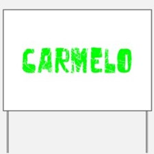 Carmelo Faded (Green) Yard Sign