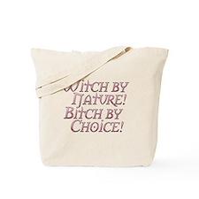 Witch Bitch Feminine Wiccan Tote Bag