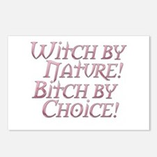 Witch Bitch Feminine Wiccan Postcards (Package of
