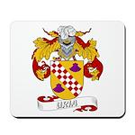 Uria Family Crest Mousepad