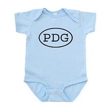 PDG Oval Infant Bodysuit