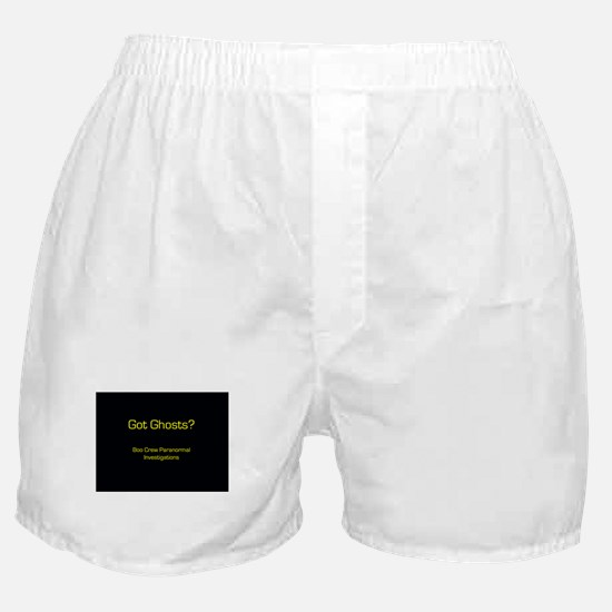 Taps ghost hunters Boxer Shorts