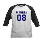 WARREN 08 Kids Baseball Jersey