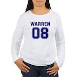 WARREN 08 Women's Long Sleeve T-Shirt