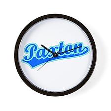 Retro Paxton (Blue) Wall Clock