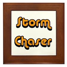 Storm Chaser Framed Tile