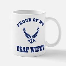 Air Force Wifey Proud Husband Mugs