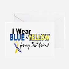 I Wear Blue & Yellow....2 (Best Friend) Greeting C