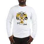 Valencia Family Crest Long Sleeve T-Shirt