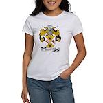 Valencia Family Crest Women's T-Shirt