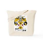 Valencia Family Crest Tote Bag