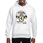 Valenzuela Family Crest Hooded Sweatshirt