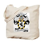 Valenzuela Family Crest Tote Bag