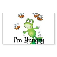 I'm Hungry Rectangle Decal