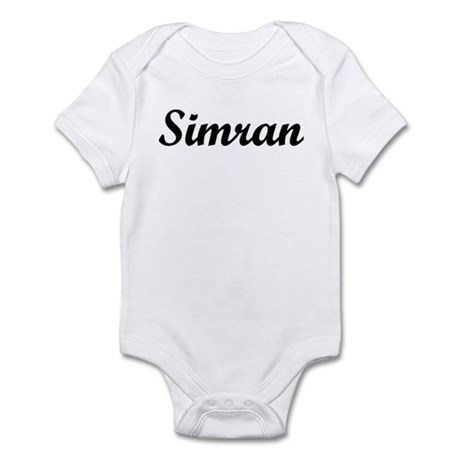 Simran Infant Bodysuit