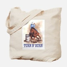 TURN N' BURN Tote Bag