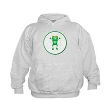 Whimiscal Little Frog Hoodie